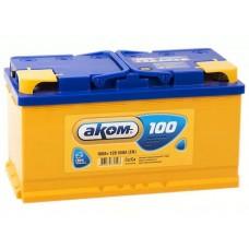 Аккумулятор АКОМ 100 А/ч 850A