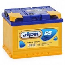 Аккумулятор АКОМ 55 А/ч 460A