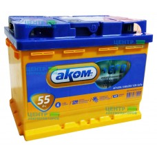 Аккумулятор АКОМ 55 А/ч 530A +EFB