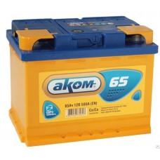 Аккумулятор АКОМ 65 А/ч 580A