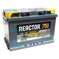 Аккумулятор REACTOR 75 А/ч 750A
