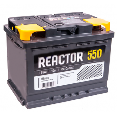 Аккумулятор REACTOR 55 А/ч 550A