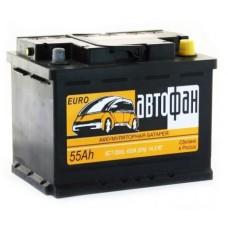 Аккумулятор АвтоФан 55 А/ч 420A