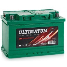 Аккумулятор ULTIMATUM 70 А/ч 640A