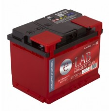 Аккумулятор E-LAB 62 А/ч 610А
