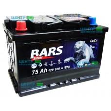 Аккумулятор BARS SILVER 75 А/ч 650А