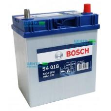 Аккумулятор BOSCH S4 018 40 A/ч 330A