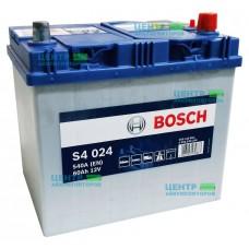 Аккумулятор BOSCH S4 024 60 A/ч 540A