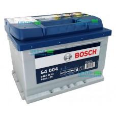 Аккумулятор BOSCH S4 004 60 A/ч 540A (низкий формат)