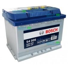 Аккумулятор BOSCH S4 006 60 A/ч 540A