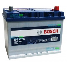 Аккумулятор BOSCH S4 026 70 А/ч 630А