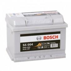 Аккумулятор BOSCH S5 004 Silver Plus 61 A/ч 600A