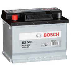 Аккумулятор BOSCH S3 006 56 A/ч 480A