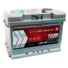 Аккумулятор FIAMM Titanium Pro 60 А/ч 600A (низкий формат)