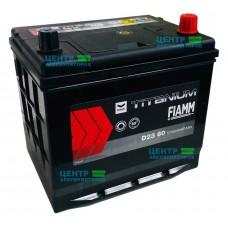 Аккумулятор FIAMM Titanium BLACK 60 А/ч 540A Asia