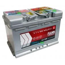 Аккумулятор FIAMM Titanium Pro 74 А/ч 680A