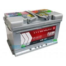 Аккумулятор FIAMM Titanium Pro 75 А/ч 730A (низкий формат)