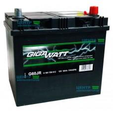 Аккумулятор GIGAWATT 60 A/ч 510A (Asia)