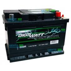Аккумулятор GIGAWATT 60 A/ч 540 (низкий формат)