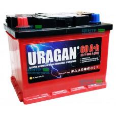 Аккумулятор URAGAN 60 А/ч 500А