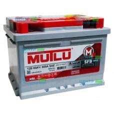 Аккумулятор MUTLU 60 А/ч 600А SAE LB2 (низкий формат)