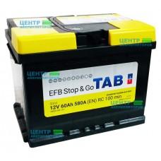Аккумулятор TAB Stop&Go EFB 60 А/ч 580А