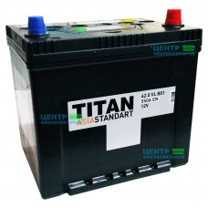 Аккумулятор TITAN ASIA Standart 62 А/ч 550A
