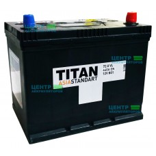 Аккумулятор TITAN ASIA Standart 72 А/ч 640A