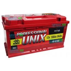 Аккумулятор UNIX 100 А/ч 840A