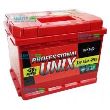 Аккумулятор UNIX 55 А/ч 490A