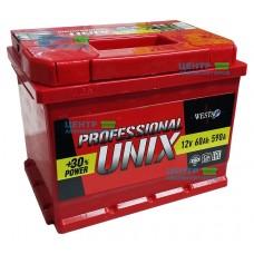 Аккумулятор UNIX 60 А/ч 590A